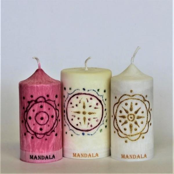 Mandala ružová